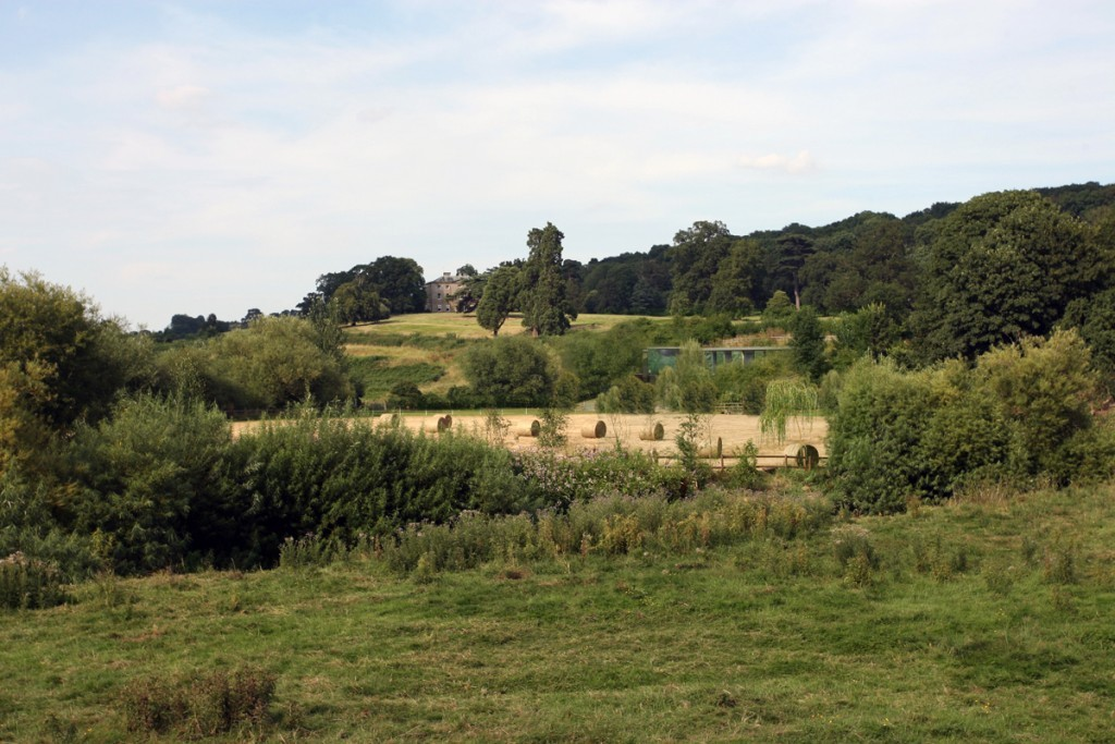 Earth sheltered eco-house located adjacent to Reptons landscape at Mordiford
