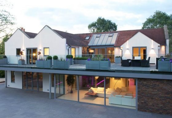 External view of remodeled house in Cheltenham