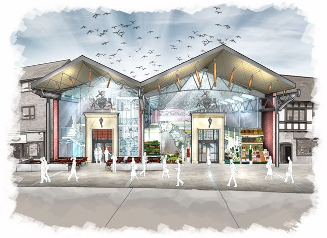 The Buttermarket – RIBA Competition Award