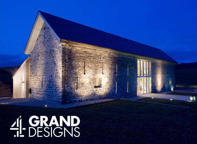 HIllcot Barn, as featured on Channel 4's Grand Designs programme