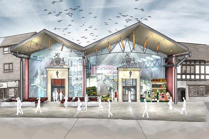 The Hereford Buttermarket competition