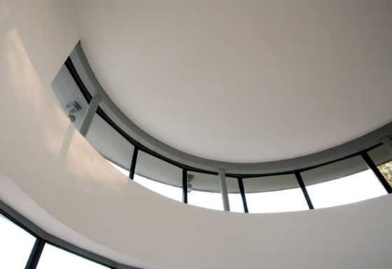 The Firs Residential Project - turret window internal view