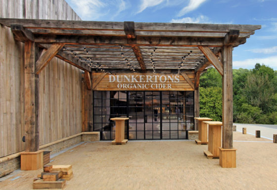 Dunkertons Cider facility Front View
