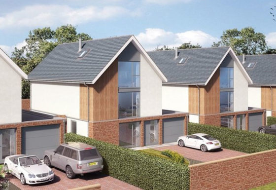 The Avenue, Ross-on-Wye, award-winning, new build development.
