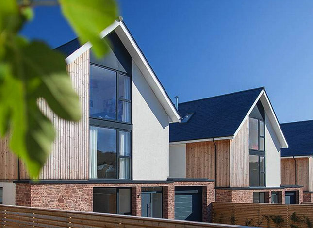 The Avenue, Ross-on-Wye, housing development by Freeman Homes, designed by RRA Architects