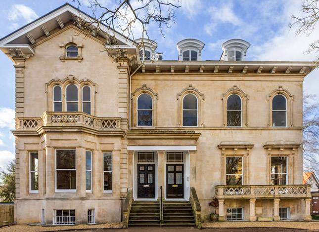 Conservation and conversion project in Montpellier, Cheltenham