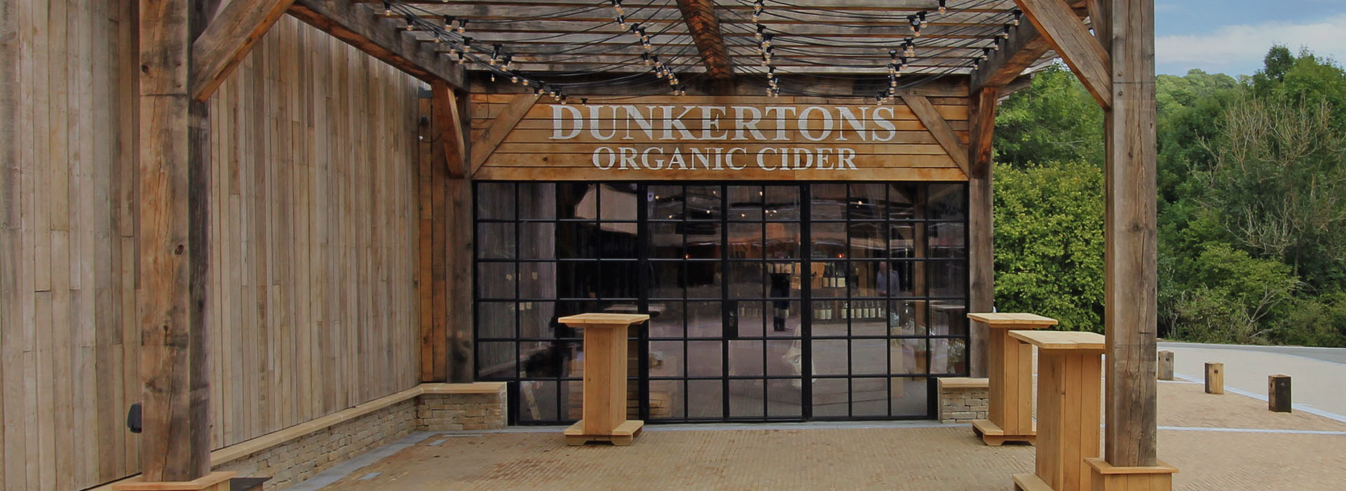 Dunkertons Cider by contractors Dowdeswell Estates