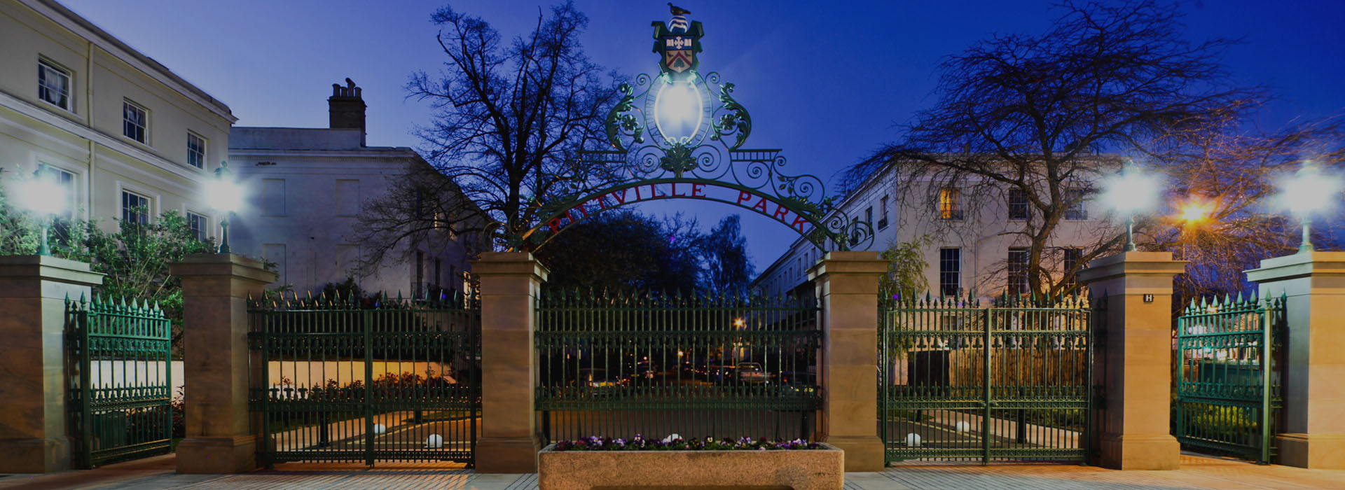 Pittville Gates, award-winning, restoration, heritage project