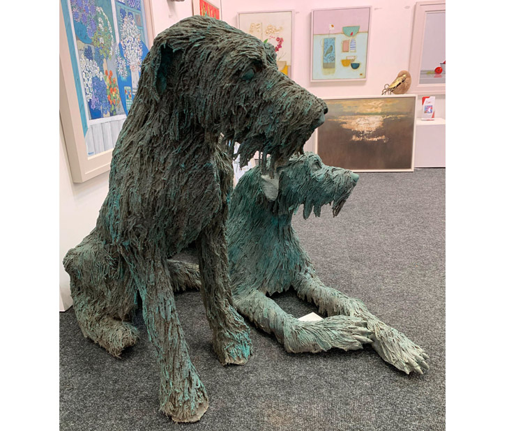 'Woof Woof' by Martin Doyle, represented by The Doorway Gallery.
