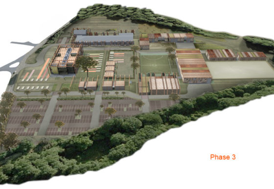 Holme Lacy College campus masterplan