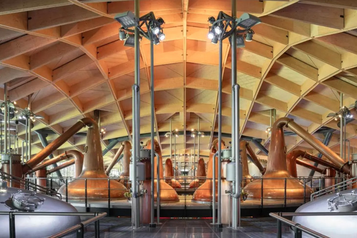 The Macallan Distillery and Visitor Experience by Rogers Stirk Harbour + Partners