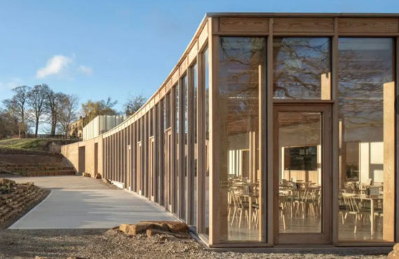 The Weston Sculpture Park by Feilden Fowles Architects