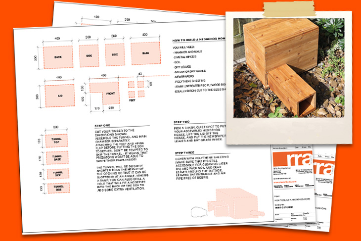 RRA's Hedgehog House plans available for download