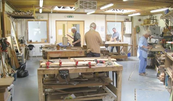 RRA donated services to design a workshop for the Headway charity in Herefordshire