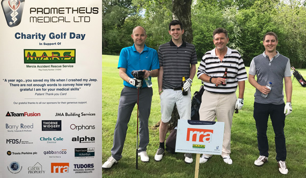 RRA have been regular supporters of MARS Golf Days and other events