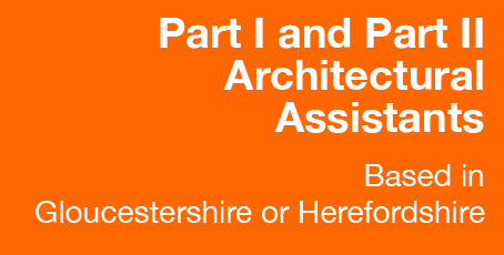 Part 1 and Part 2 Architects wanted for RRA Architects Gloucestershire and Herefordshire offices