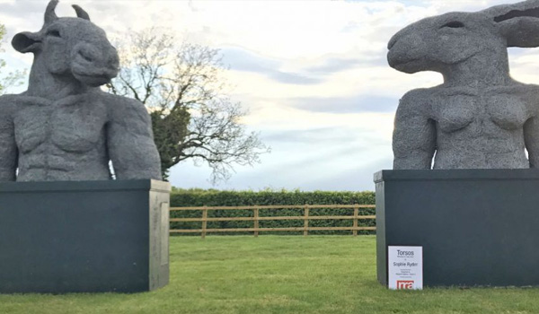RRA has sponsored the installation of Sophie Ryder's 'Torsos' for the Fresh: Art Fair
