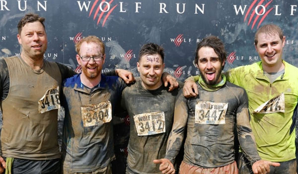 RRA Associate Oliver Smith taking part in the immensely tough Wolf Run