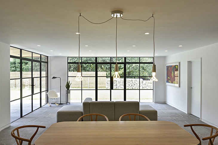 Contemporary, new build, replacement dwelling in Cheltenham