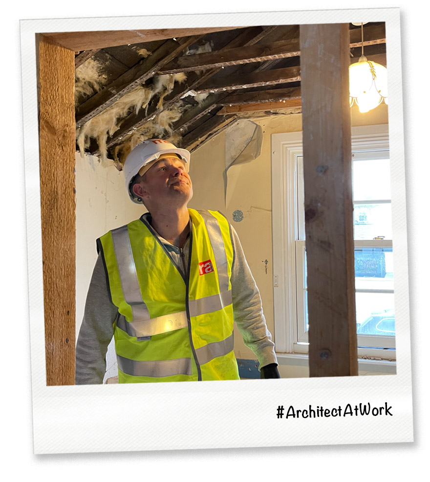 RRA Architects Managing Director, Mark Powles, at his hobby and other job as a Property Developer.
