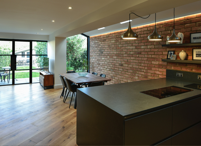 Contemporary Extension to Victorian Semi-Detached