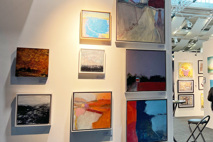 Pieces by Andy Watt on the fresh@fresh stand.