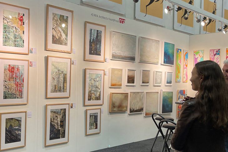 Pieces by Angela Dooley and Zoe Ashbrook on the fresh@fresh stand.