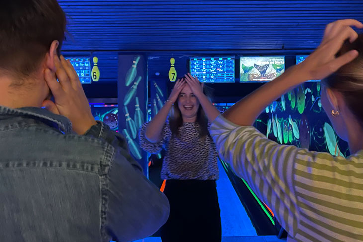 We can't all be good at bowling.