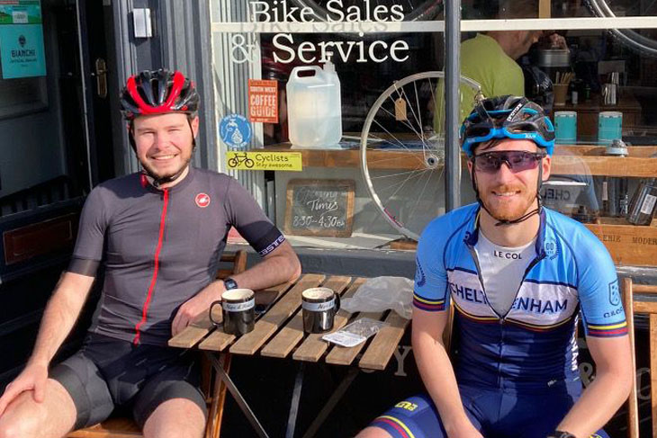 So most of us drove the 70 or so miles to get to Longleat, but Jack and Nic thought it would be 'fun' to cycle all the way. Then when they arrived they still had energy so they went swimming - wow, just wow